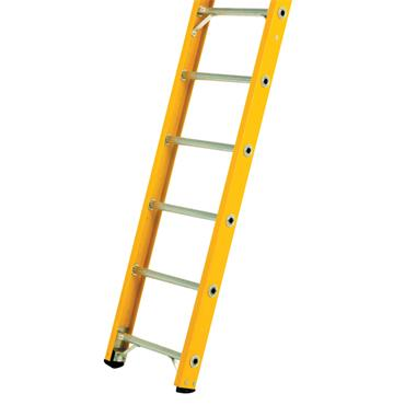 Bratts Ladders GL1 Glass Fibre Single Section Ladders