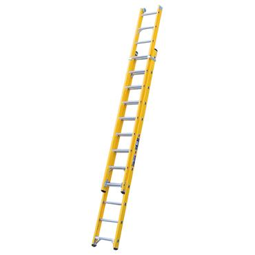 Bratts Ladders GL2 Glass Fibre Double Extension Ladders