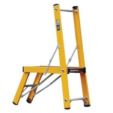 Bratts Ladders B-DEK 1.35m Glass Fibre Low-Level Work Platform