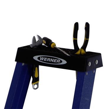 Werner Platform Fiberglass Stepladders