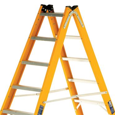 Bratts Ladders GTS Glass Fibre Double Side Step Ladder