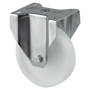 Tente 8478UOO Stainless Steel Fixed Castors