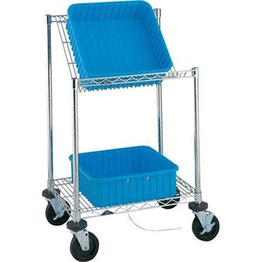 METRO EBC313BBR Benchside Tote Cart