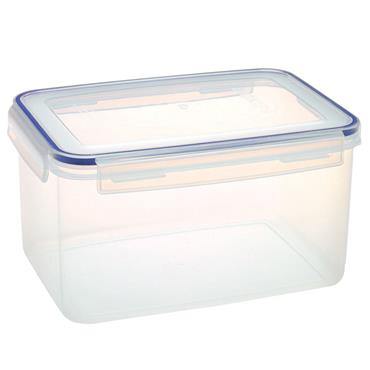 Addis 502265 Clip and Close 5 Litre Rectangular Container - Clear