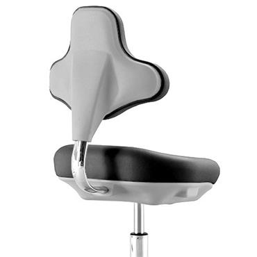 Global 85B9103-S Black Adjustable Lab Chair