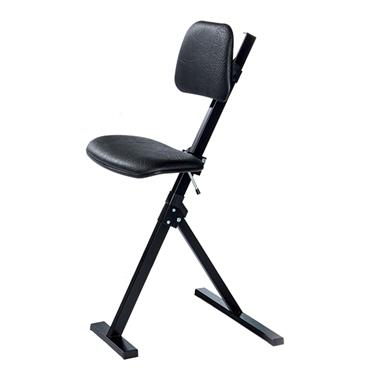Global 751020 Black Sit Stand Chair