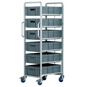 Top Store ECT/6X6417/BC 33 Litre Euro Container Tray Trolleys