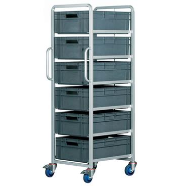 Top Store ECT/6X6420/BC 40 Litre Euro Container Tray Trolleys