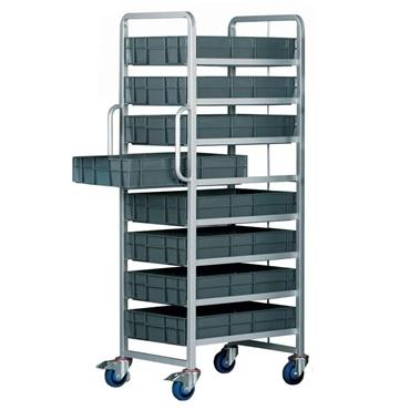 Top Store ECT/8X6412/BC 22 Litre Euro Container Tray Trolleys