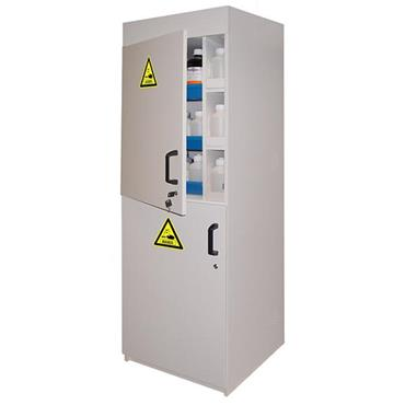 Ecosafe APC92 2 Door Tall Melamine Safety Cabinet for Acids and Bases