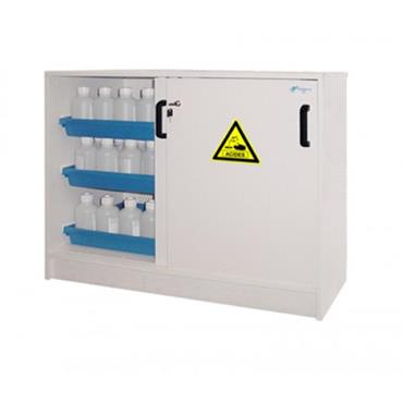 Ecosafe ACP112 2 Door Working Cover Melamine Safety Cabinet for Acids and Bases