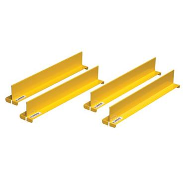 Justrite Yellow Shelf Dividers