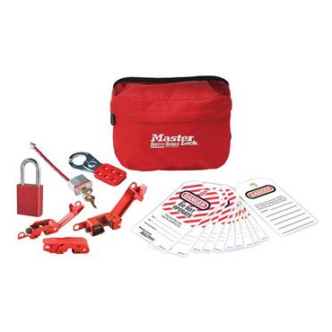 Masterlock S1010ES31 Compact Safety Lockout Pouch Kit
