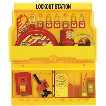 Masterlock S1900VE410 Deluxe Safety Lockout Station