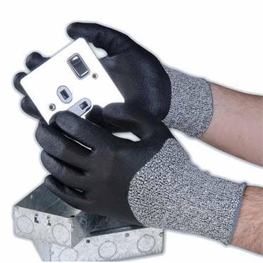 Polyco DN/10 Dyflex N Dyneema Nitrile Coating Resistant Gloves