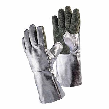 Jutec Aluminum Foil Heat Resistant Gloves