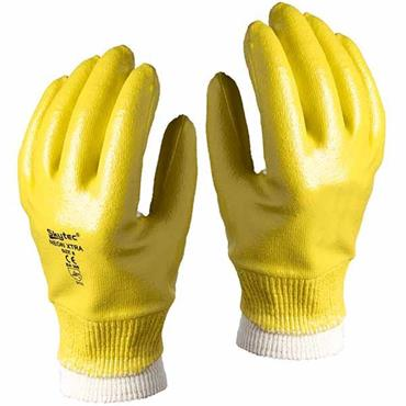 Skytec NEON-XTRA Nitrile Coated Work Wear Gloves