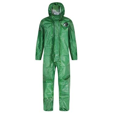 Alpha Solway X100 Chemical Protective Disposable Coverall - Green