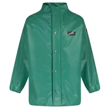 Alpha Solway High-Performance Chemical Protective Suit - Green