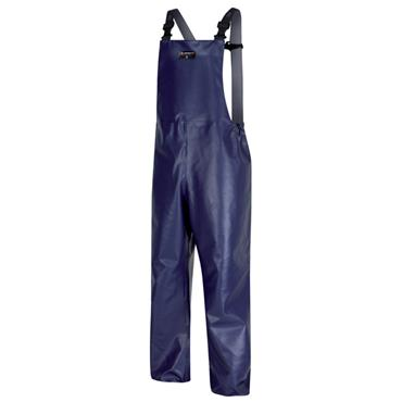 Alpha Solway Food Industry Chemical Protective Bib 'n' Brace - Navy