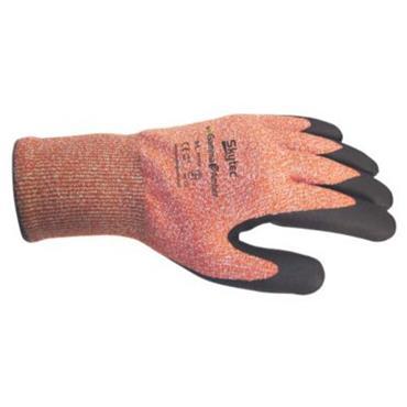 Skytec Gamma 3 Amber Nitrile Foam Cut Resistant Gloves
