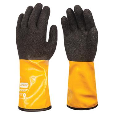 Skytec Xenon 3 Amber Chemical Resistant Gloves