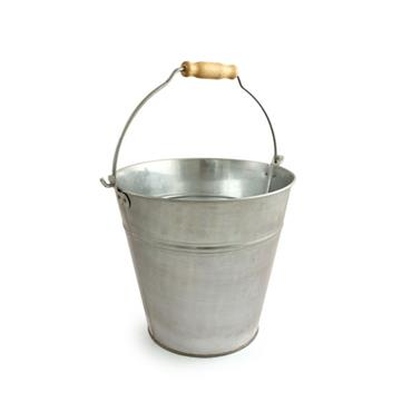 BENTLEY GB.01 Galvanised Bucket, 12L