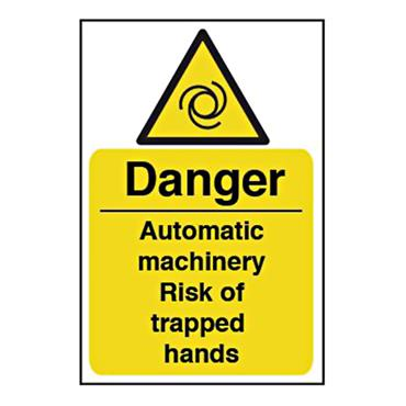 CITEC 11155 200 x 300mm Self Adhesive Vinyl Safety Sign Label