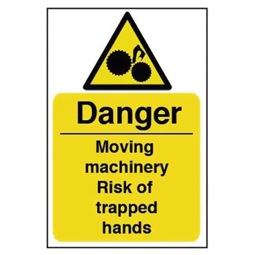 CITEC 11154 200 x 300mm Rigid Non-Adhesive PVC Safety Sign Label