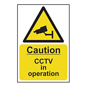 CITEC 11215 200 x 300mm Self Adhesive Vinyl Sign Label