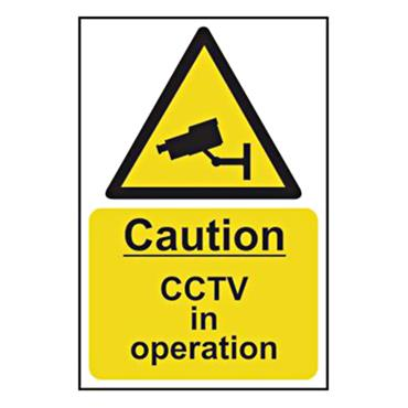 CITEC 11216 200 x 300mm Rigid Non-Adhesive PVC Safety Sign Label