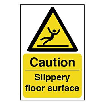 CITEC 11040 200 x 300mm Rigid Non-Adhesive PVC Safety Sign Label