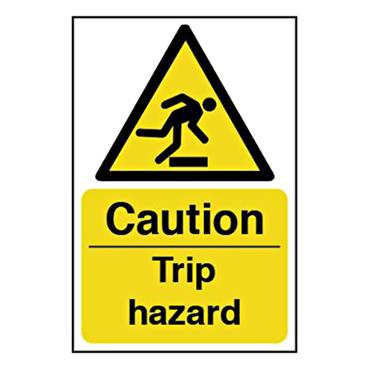 CITEC 11054 200 x 300mm Rigid Non-Adhesive PVC Safety Sign Label