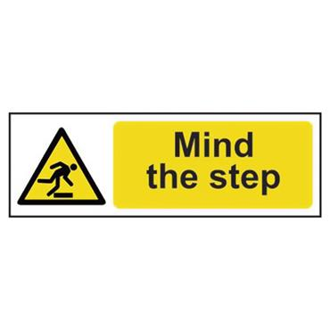 CITEC 11107 300 x 100mm Self Adhesive Vinyl Safety Sign Label