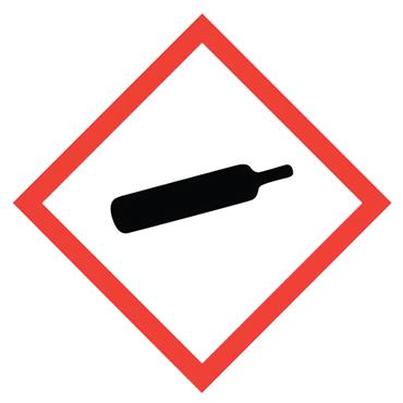 CITEC 18008 50 x 50mm Self Adhesive Vinyl Safety Sign Label Pack of 10