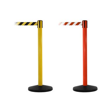 QUEUE SafetyMaster Retractable Belt Barriers