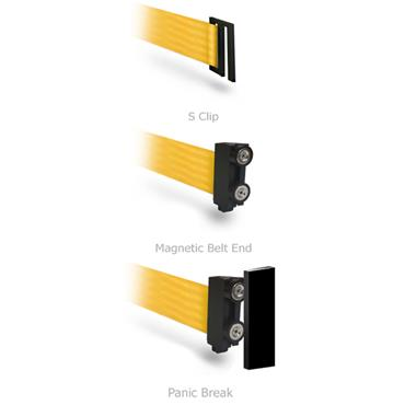 QUEUE WallPro 400/450 Belt End Options
