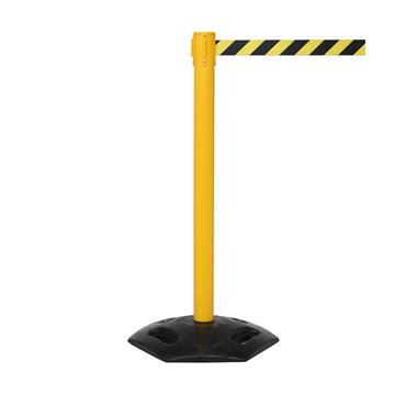 QUEUE Weathermaster 250 Retractable Belt Barriers