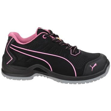 Puma Fuse TC Wns Low ESD SRC S1P Black/Pink Safety Trainers