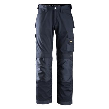 Snickers 3311 CoolTwill Craftsmen Trousers - Navy