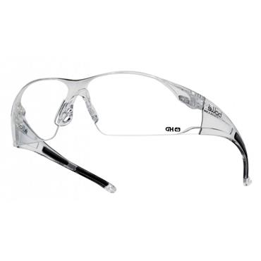 Bolle RUSHDPI Rush Safety Glasses - Clear HD