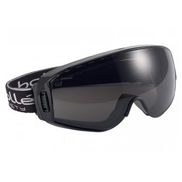 Bolle PILOPSF Pilot Safety Goggles - Smoke