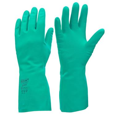 CITEC NG Flock Lined Nitrile Gauntlets Gloves