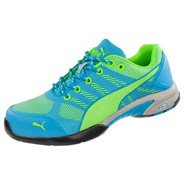 Puma Celerity Knit Wns Low S1P Blue/Green Safety Shoes