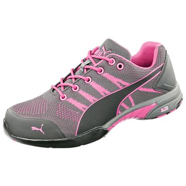 Puma Celerity Knit Wns Low S1 Grey/Pink Safety Shoes