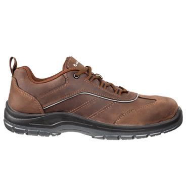 Albatros Smart CSL Low S3 ESD Brown Safety Shoes