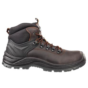Albatros Endurance Mid S3 SRC Brown/Black Safety Boots