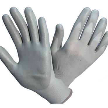 CITEC PRO SS-300A Grey PU Coated Nylon Gloves
