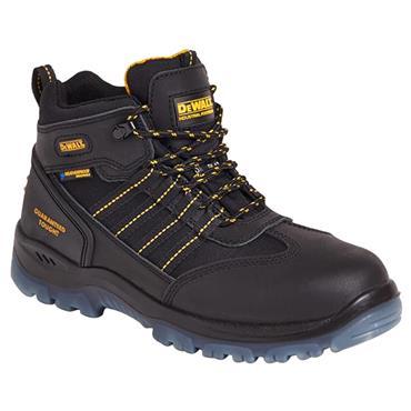 DeWALT Nickel Waterproof S3 Black Safety Boots