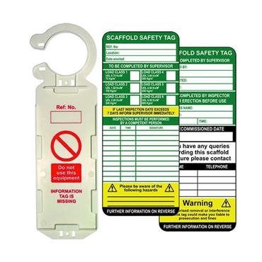 CITEC Scaffold Tags & Holders